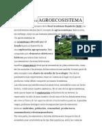 Agroecosistema Quinto A