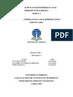 Makalah Pengantar Pendidikan Abk (Modul 2)