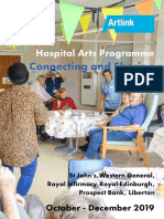Connecting and Sharing | Hospital Arts Programme oct - Dec 2019