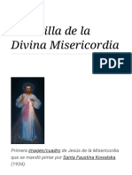 Coronilla de La Divina Misericordia - Wikipedia, La Enciclopedia Libre