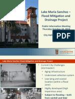 Lake Maria Sanchez Flood Mitigation Project_10-10-2019 Public Info Meeting_FINAL.pptx