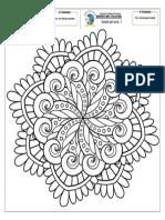 Ficha de Arte Mandala