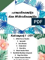 1d-Biomedik (Termodinamika Dan Hidrodinamika)