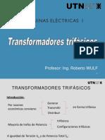 Presentación Transformadores Trifásicos