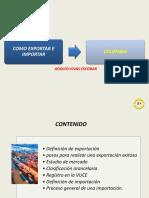 Exportación e importación en Colombia.ppt