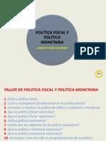 Política fiscal y política monetaria.ppt
