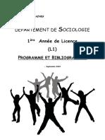 Brochure Socio L1 2015 2016