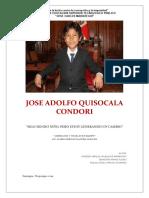Jose Adolfo Quisocala Condori