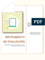 Instrumento de Evaluación GAES
