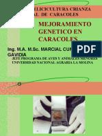 GENETICA DE CARACOLES