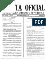 Ley de Aguas - Venezuela