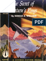 Secret of Saturns Rings 1954.Winston Cape1736 Wollheim