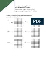 Guia Decimales y fraccion