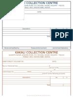 Debit Credit Voucher KKC