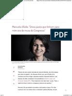 Manuela d'Avila - Entrevista