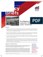 DTI Policy Brief 2017 11 the Philippines in Agribusiness Global Value Chains