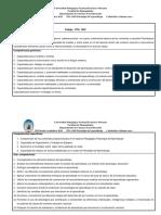 Prog. Psicologia Del Aprendizaje 2018-1