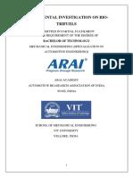 EXPERIMENTAL INVESTIGATION ON BIOTRIFUELS report   version 3.0.docx