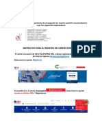 Instructivo Portal ARL Colpatria