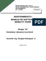 Programa Mantenimiento Software Mobility Work David Ajhuacho Inca