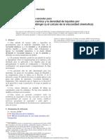 Viscosidad Dinámica ASTM D7042 - Traducido