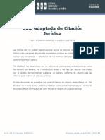 Citación de Fuentes jurídicas pdf