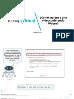 Mat_alum_¿Cómo Ingreso a Una Videoconferencia Webex