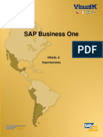 SAP Business One - Importaciones