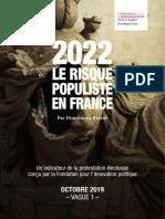 2022, LE RISQUE POPULISTE EN FRANCE
