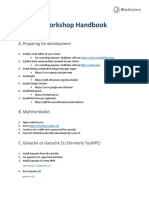 Workshop handbook - Blockchain Innovation by BCA (Surabaya, Indonesia)