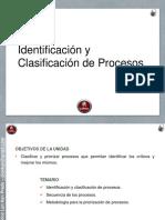 clasificacion de procesos
