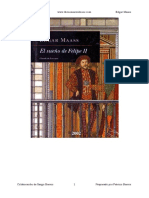 El Sueno de Felipe II - Edgar Maass