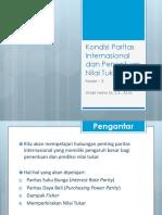 5 Kondisi Paritas Internasional Dan Penentuan Nilai Tukar