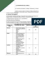 la organizacion de la biblia - JOANNA PAZ CASTILLO.docx