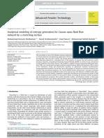 Analytical Modeling of Entropy Generatio