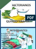 ANTIBACTERIANOS Y QUIMIOTERAPIAS