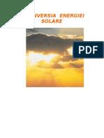 Conversia energiei solare