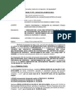 INFORME TECNICO PARA APROBACION MEDIANTE RESOLUCION
