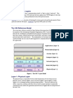 Communications Layers Summary