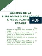 Procedimiento Para Gestionar El Proceso de Titulacion v9.b (Plantel y Oe)