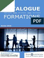 Catalogue de formation