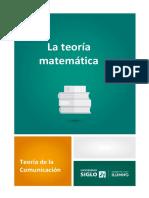 7-La Teoría Matemática