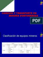 Carguío y Transporte en Minería Subterránea.ppt