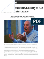 Curt Anderson AP Story in the Sun Sentinel - October 8 2019