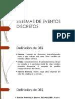 2 Características DES