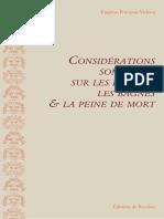Vidocq Eugène-François Considérations sommaires sur les prisons, les bagnes & la peine de mort.pdf