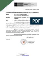 Oficio 065 Ministerio Publico