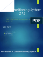 Global Positioning System - GPS c