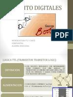 1.3. Compuertas y Algebra de Boole