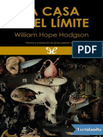 La Casa En El Limite William Hope Hodgson Pdf William Hope Hodgson Novelas